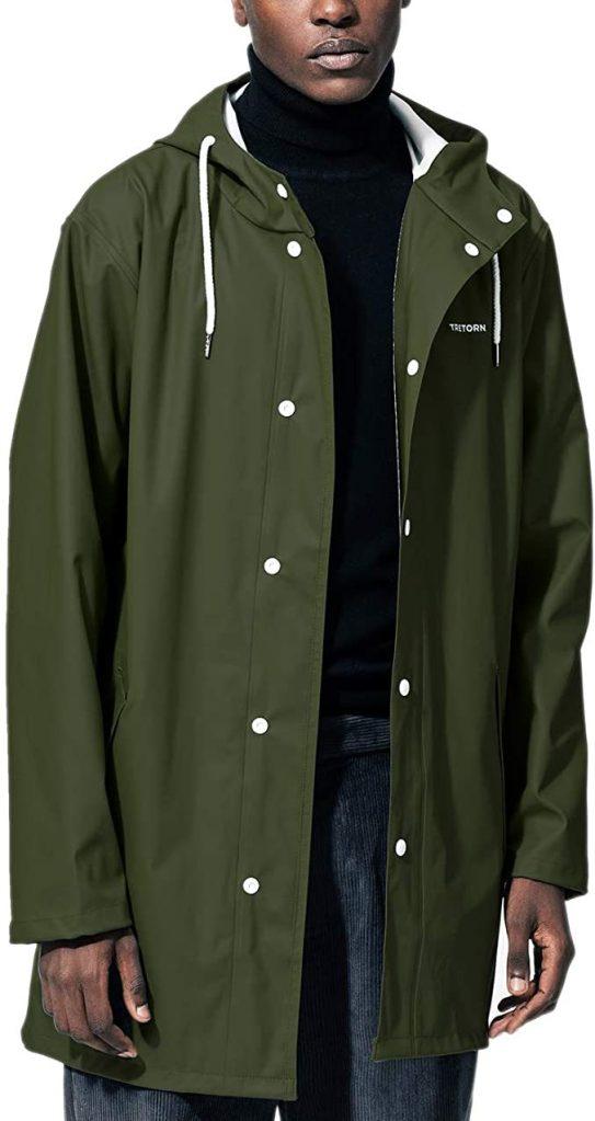 Tretorn waterproof hooded rain jacket