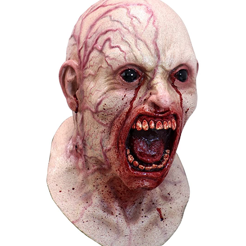 infected zombie mask - scary halloween costumes for men