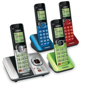 VTech 4-Handset DECT 6.0 Cordless Phone