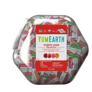 best halloween candy YumEarth Organic Lollipops Bin
