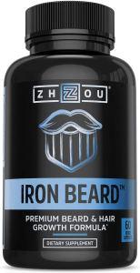 zhou beard growth supplement