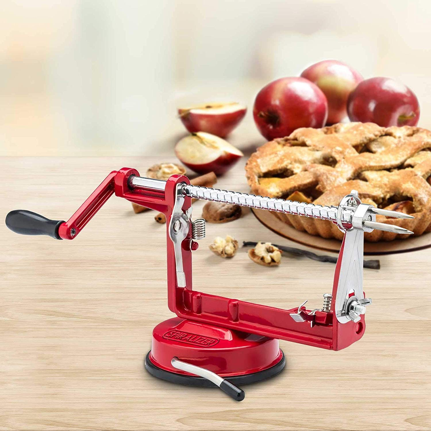 spiralizer apple peeler