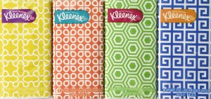 Kleenex travel pack