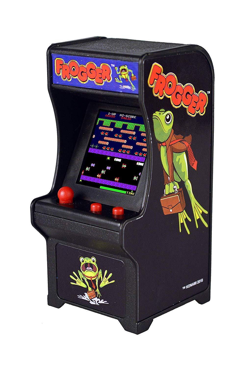 mini frogger game