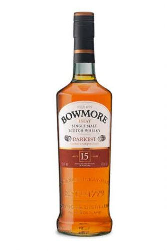 Bowmore Islay Single Malt 15-Year Darkest Scotch Whisky