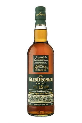 GlenDronach Single Malt 15-Year Scotch Whisky