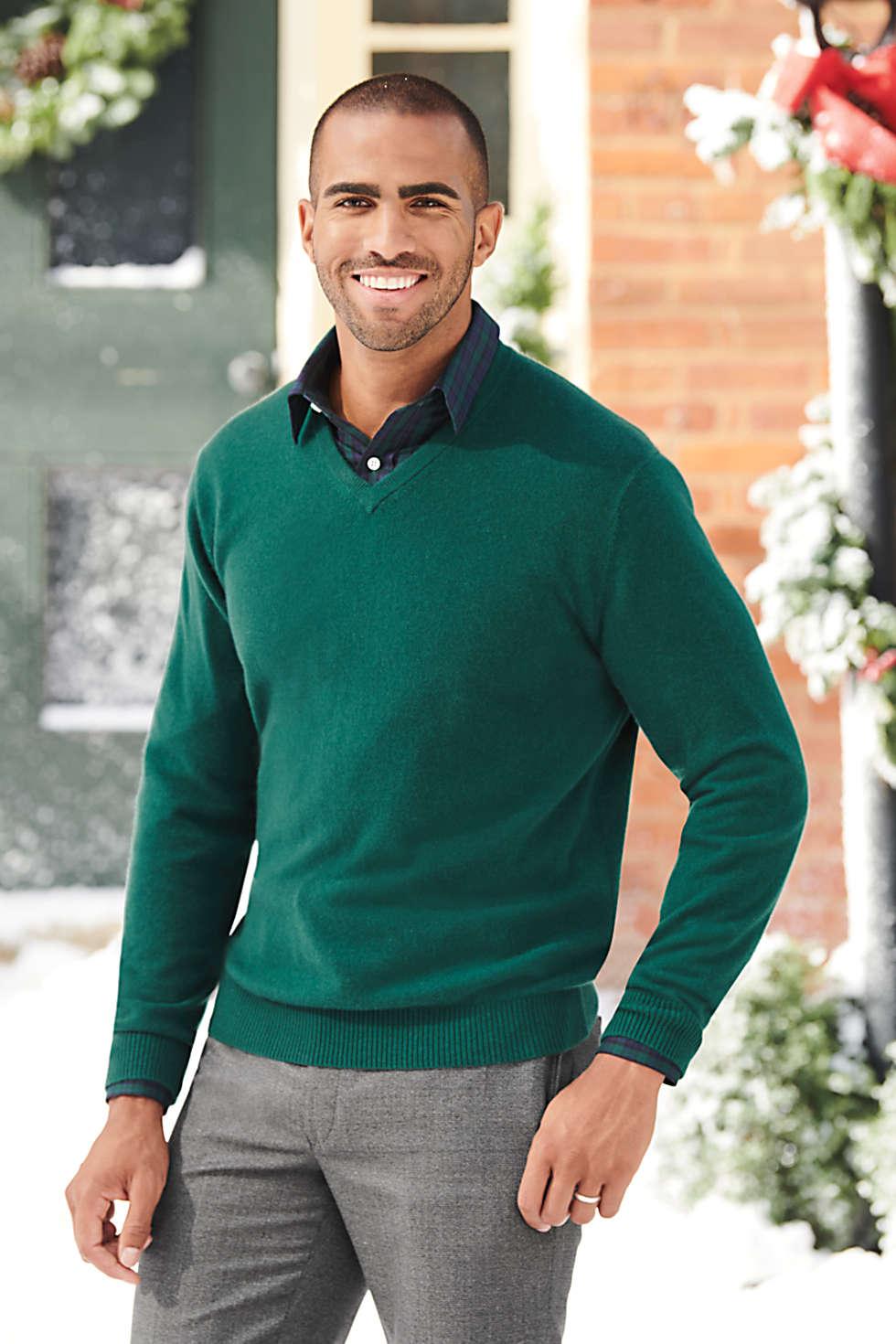 Lands End cashmere sweater, men's cashmere, cashmere sweaters