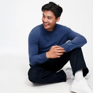 men's essential cashmere sweater, men's cashmere, cashmere sweaters