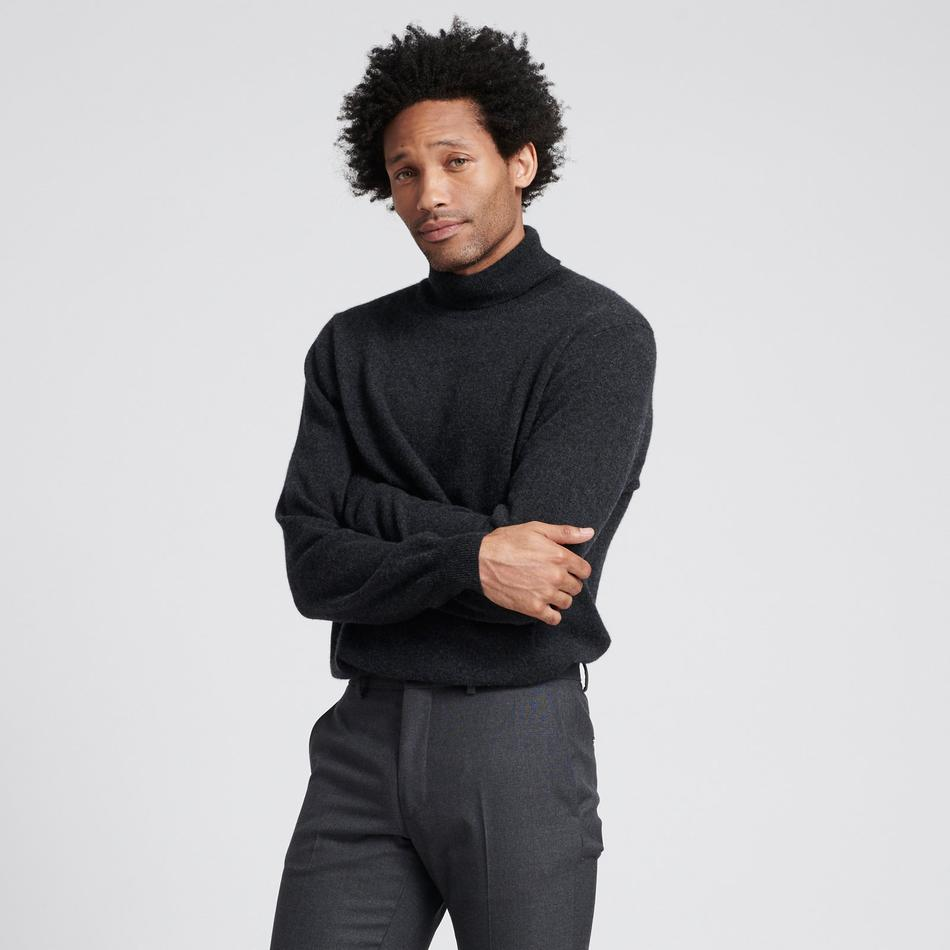 Naadam cashmere turtleneck, men's cashmere, cashmere sweaters