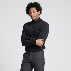 Naadam cashmere turtleneck, men's cashmere sweaters