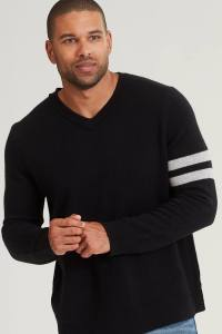 Naked Cashmere Cruz V Neck Sweater for men