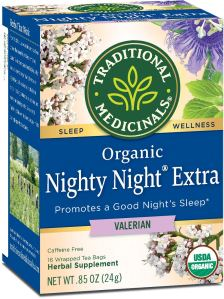 Traditional Medicinals Organic Nighty Night Valerian Relaxation Tea