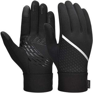 reflective running gear vbiger store touch screen gloves