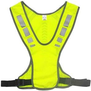 reflective running gear xiake adjustable vest