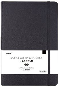 ArtFan Undated Daily/Monthly Planner