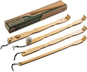 best back scratchers bamboo set