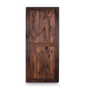 BELLEZE Unfinished Sliding Barn Door