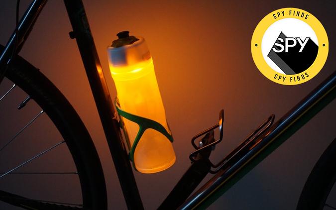 orb bike water bottle safety light