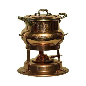 best fondue pots bottega del rame copper