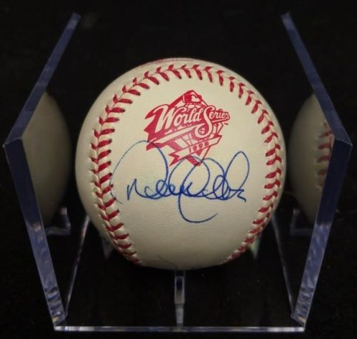 Derek Jeter, Scott Brosius, and Joe Torre Signed 1998 World Series Baseball