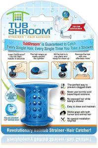 bathtub drain stopper shroom