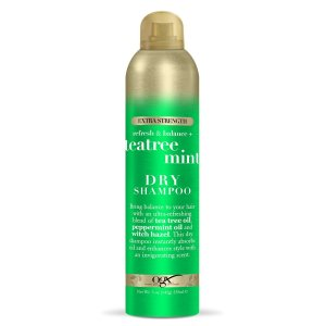 dry shampoo for men ogx tea tree
