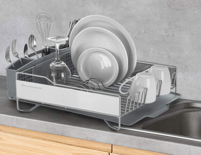 The 11 Best Dish Drying Racks For Your Kitchen Sink In 2020 Spy