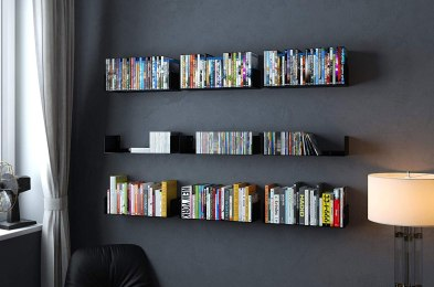 the best floating bookshelves for adding a bit of personality to your walls