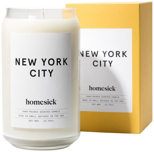 Homesick New York City Scented Candle