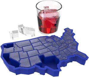 ice tray usa shape