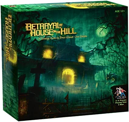 Betrayalat house on the hill