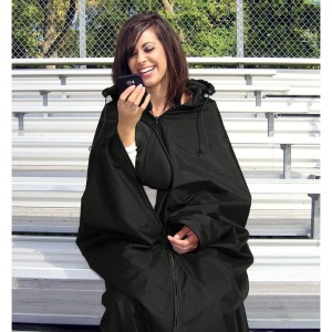 Ultimate Sports Wrap Hooded Stadium Blanket