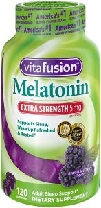 best melatonin vitafusion