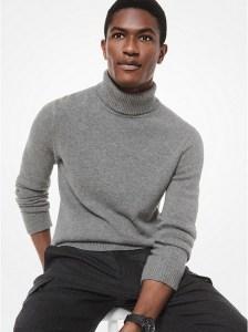 Michael Kors Cashmere sweater, men's cashmere, cashmere sweaters