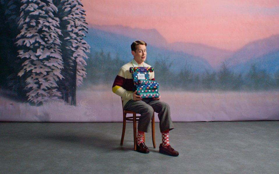 Macaulay Culkin Happy Socks Featured