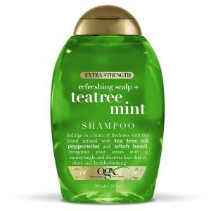 tea tree oil shampoo ogx extra strength