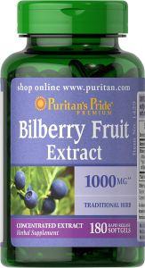 Puritans Pride Bilberry