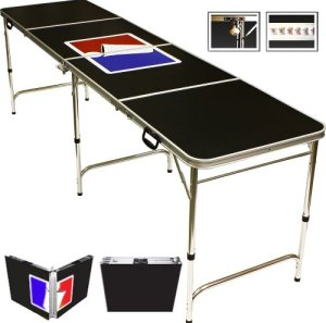 red cup beer pong table