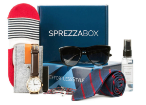 men's accessories box sprezza box