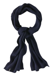 Patagonia Men's Recycled Cashmere Scarf (in navy blue)