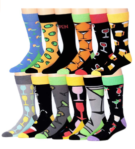 Colorfut Groomsman Socks