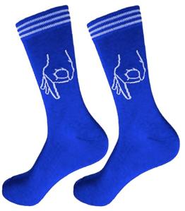 The Circle Game Groomsman Sock