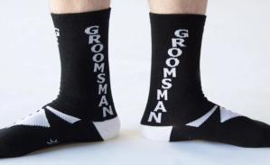 Gumball Poodle Groomsman Socks