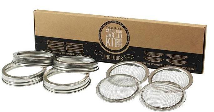 sprouting jar lid kit