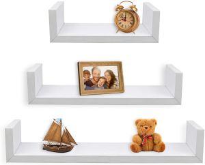 best floating bookshelves greenco
