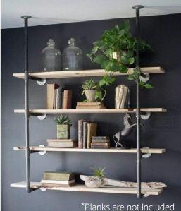 best floating bookshelves industrial