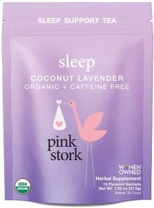 best sleep tea pink stork