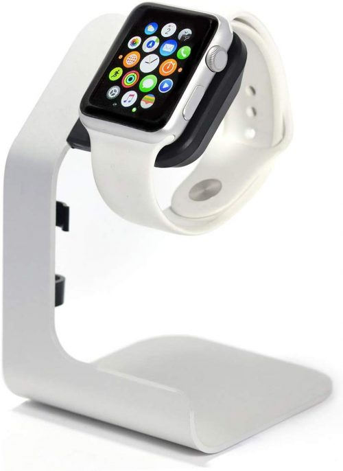 stocking stuffer ideas - Standing Apple Watch Charging Stand
