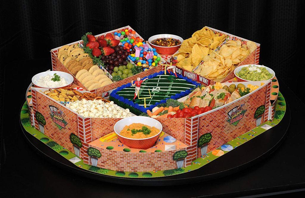taste of the stadium food tray
