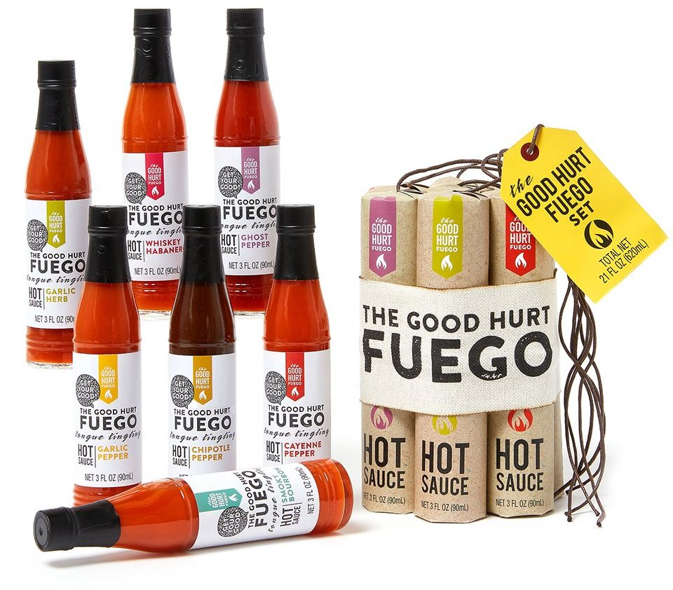 The Good Hurt Fuego hot sauce - Best Gifts for Dad 2020